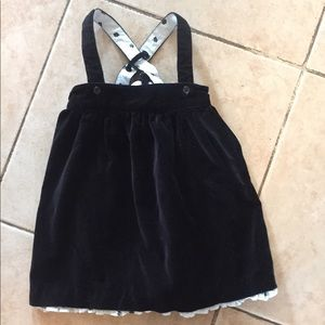 Janie & jack Baby Girls Suspender Skirt sz 18-24 M